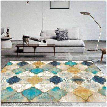 Nice Vintage Geometric Colorful Rug For Living Room/Bedroom 2