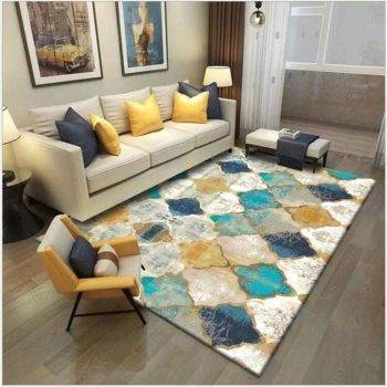 Nice Vintage Geometric Colorful Rug For Living Room/Bedroom 1