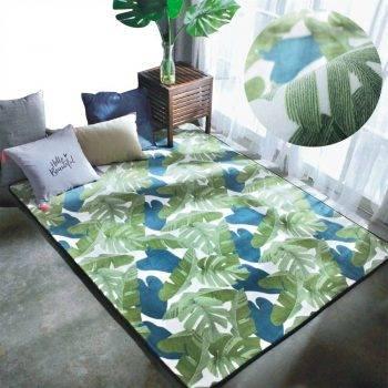 Modern Persian Fluffy Rug For Living Room - Child's Bedroom Rugs 5