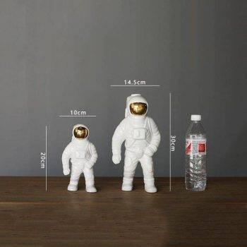 Modern Gold Ceramic Astronaut Statue - Modern Home Decoration Accessories 3