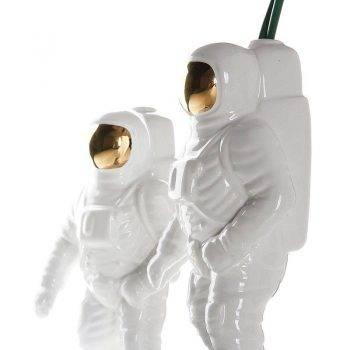 Modern Gold Ceramic Astronaut Statue - Modern Home Decoration Accessories 4