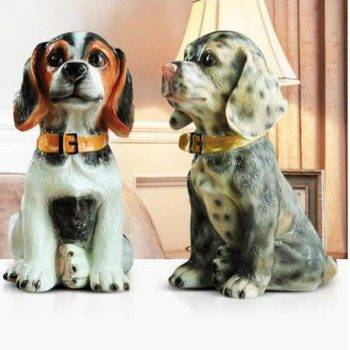 Vintage Dog Statue Decor - Home Decorating Accessories Ideas 2