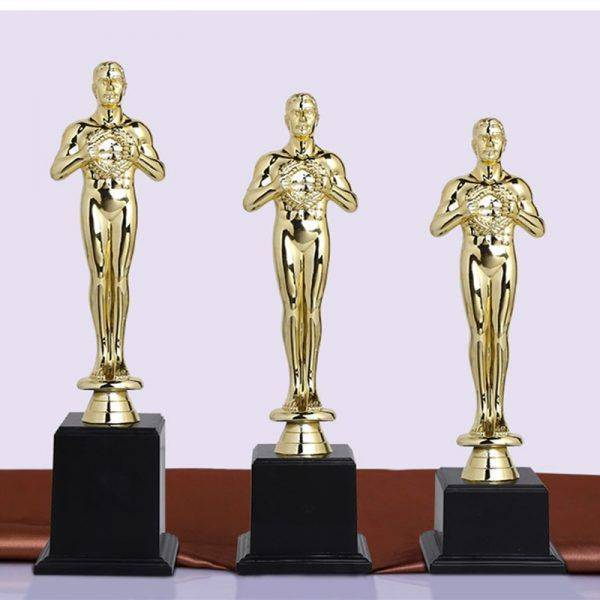 Golden Resin Oscar Statue For Sale – Statue Decor For The Home