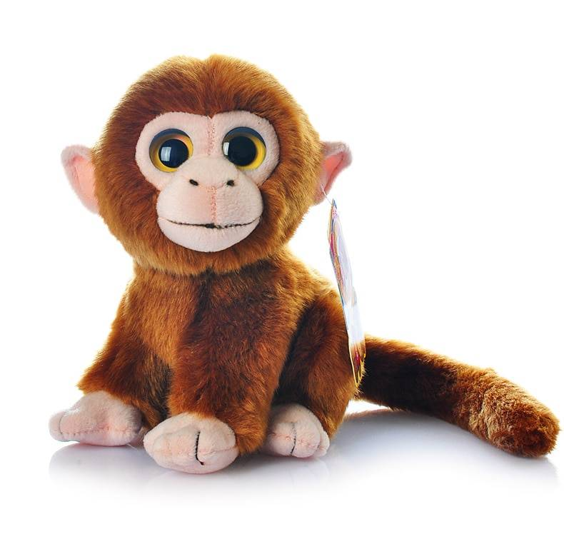 18cm Simulation Monkey Plush Toys Kawaii Stuffed Animal Toys Dolls Gifts For Children Kids Toy Free Shipping
