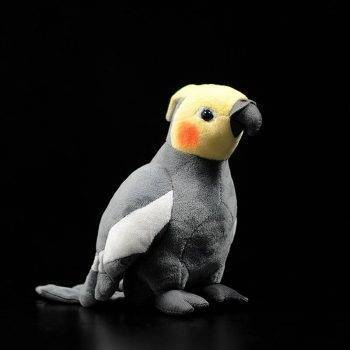 Cockatiel Plush Toys For Kids - Parrot Stuffed Birds Animal Toy Christmas Gifts 1