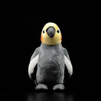 Cockatiel Plush Toys For Kids - Parrot Stuffed Birds Animal Toy Christmas Gifts 2