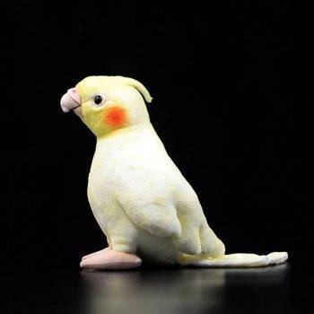 Cockatiel Plush Toys For Kids - Parrot Stuffed Birds Animal Toy Christmas Gifts 4