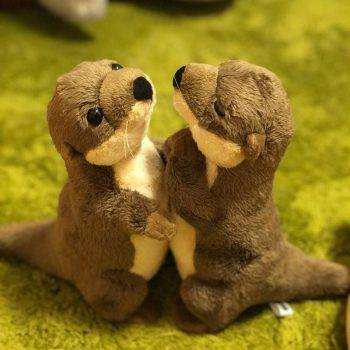 River Otter Plush Toys - Otter Stuffed Animals Toys For Kids Birthday Gifts 1