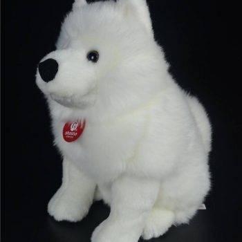 Samoyed Stuffed Toys - White Dog Plush Toy Puppy Plush Animals Toy 1