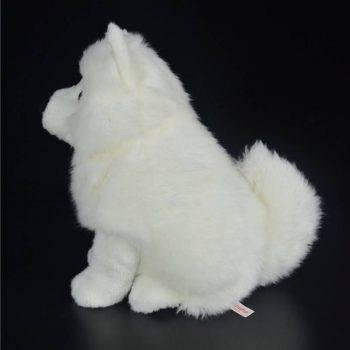 Samoyed Stuffed Toys - White Dog Plush Toy Puppy Plush Animals Toy 4