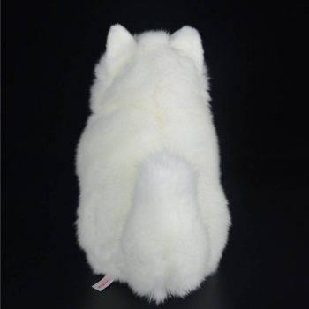 Samoyed Stuffed Toys - White Dog Plush Toy Puppy Plush Animals Toy 5