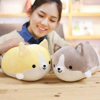 Welsh Corgi Dog Plush Toy - Pillow Dog Puppy Stuffed Animals For Kids, Birthday Gift 3