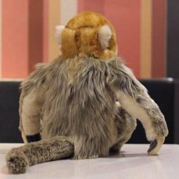 Monkey Plush Toy For Kids - Sitting Golden Monkey Stuffed, Animal Toys, Gift Ideas 3