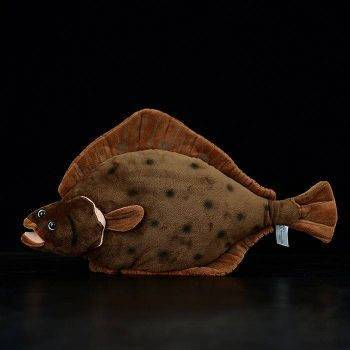 Flounder Plush Toys For Children - Sea Animals Stuffed Toys, Flatfish Plush 1