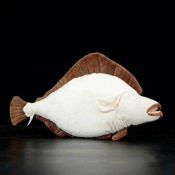 Flounder Plush Toys For Children - Sea Animals Stuffed Toys, Flatfish Plush 2