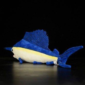 Sailfish Plush Toys - Huggable Fish Stuffed Toys For Children, Sea Animals 3