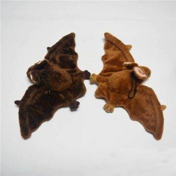 Bat Plush Toys For Kids - Brown Wild Animal Stuffed Toy 1