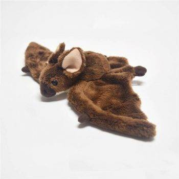 Bat Plush Toys For Kids - Brown Wild Animal Stuffed Toy 2