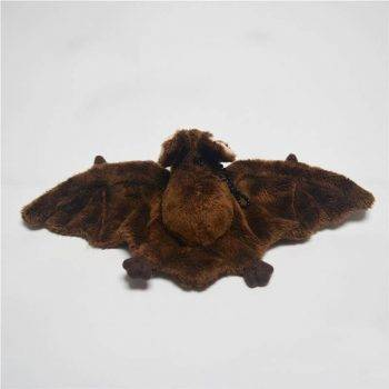 Bat Plush Toys For Kids - Brown Wild Animal Stuffed Toy 3