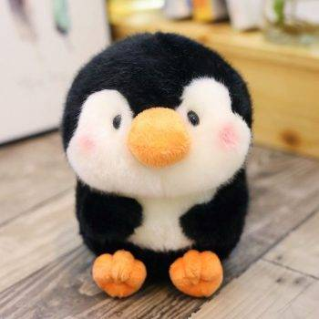 Panda Plush Toy For Kids - Penguin/Pig/Rabbit/Hamster/Seal Dolphin Stuffed Animals, Office Decor 5