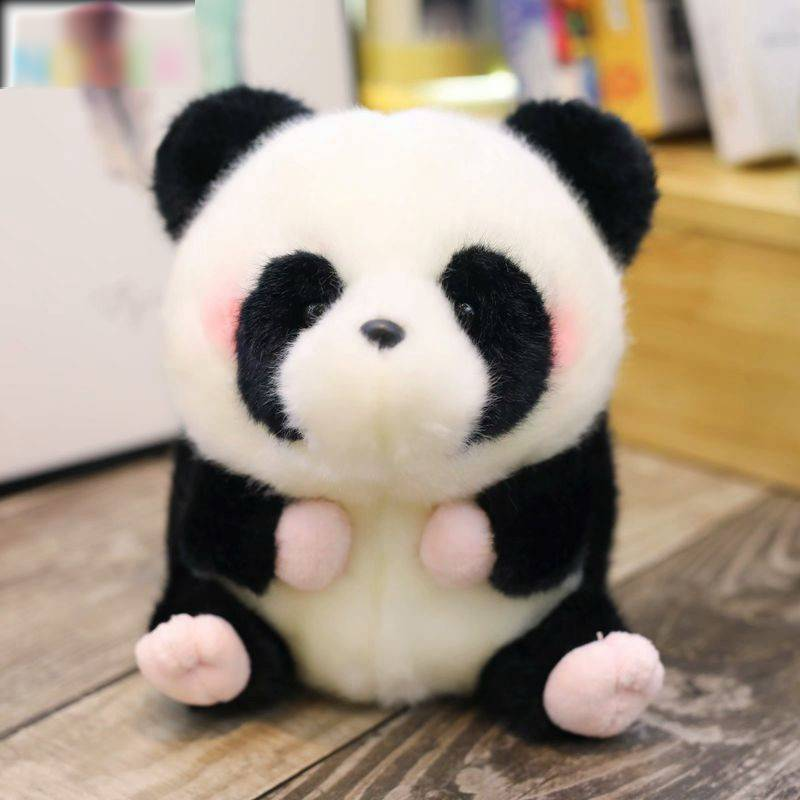 Panda Plush Toy For Kids – Penguin/Pig/Rabbit/Hamster/Seal Dolphin Stuffed Animals, Office Decor