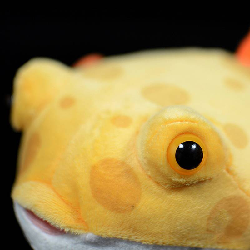 Super Cute Boxfish Plush Toys Lifelike Soft Marine Animal Fish Stuffed Toy Birthday Christmas Gift For Kids
