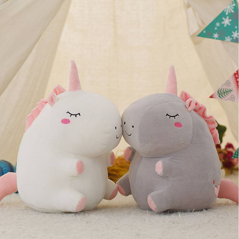 Unicorn Stuffed Plush Toy Super Soft Uncorn Pillow Kids Toy Birthday Gift For Kids Child