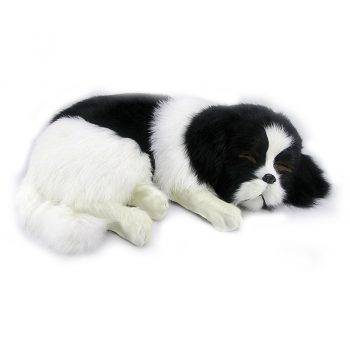 Black Mini Dogs Stuffed Animals - Border Collie/Bernese Mountain/Saint Bernard/Cocker Spaniel Puppies Plush Toys 4