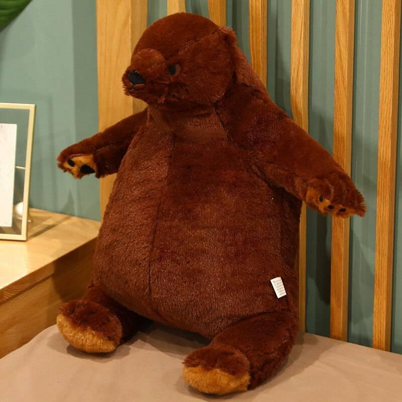 Brown Bear Plush Stuffed Animal Soft Big Teddy Bear Pillow Cartoon Bruins Peluches Toys Birthday Gifts For Girls Kids