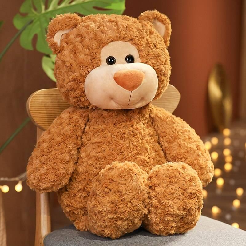 Cuddly Bear Plushie Giant Stuffed Animals Scaf Stitchie Teddy Bear Soft Samll Toys Baby Companion Doll Birthday Gifts For Girls