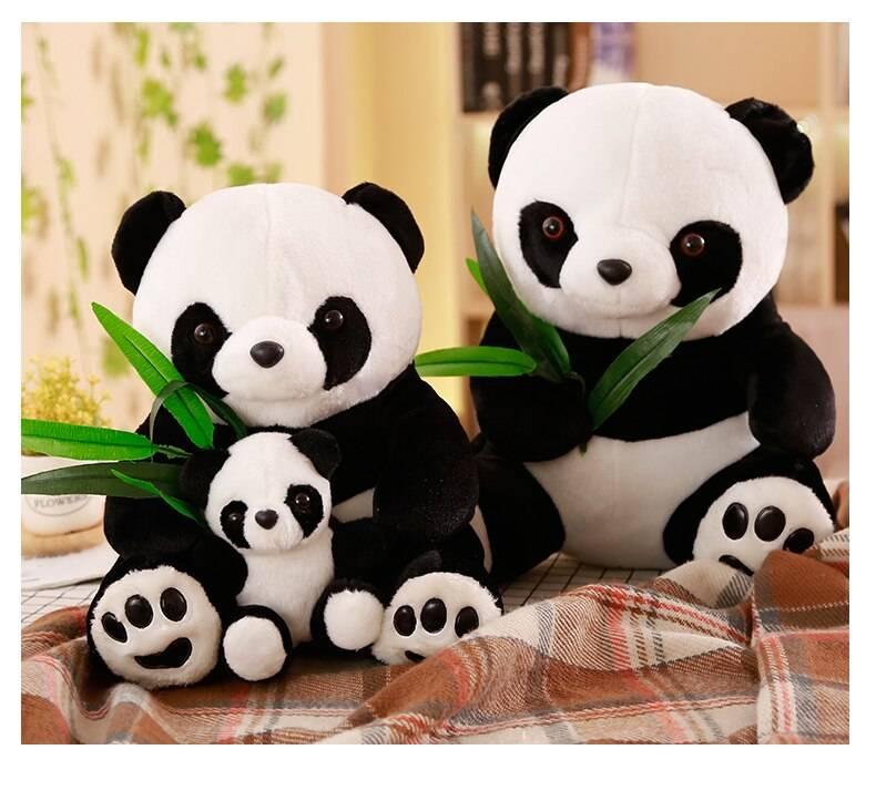 Large Size Panda Doll Plush Toy Baby Bear Pillow Panda Cloth Doll Kids Toys Baby Birthday Gift For Children