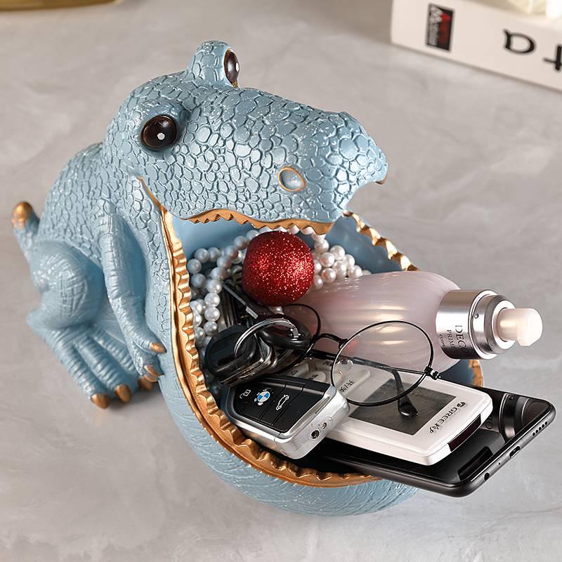 3D Dragon Statue Sculpture Home Decoration Accessories Desk Storage Box Decorative Figurine
