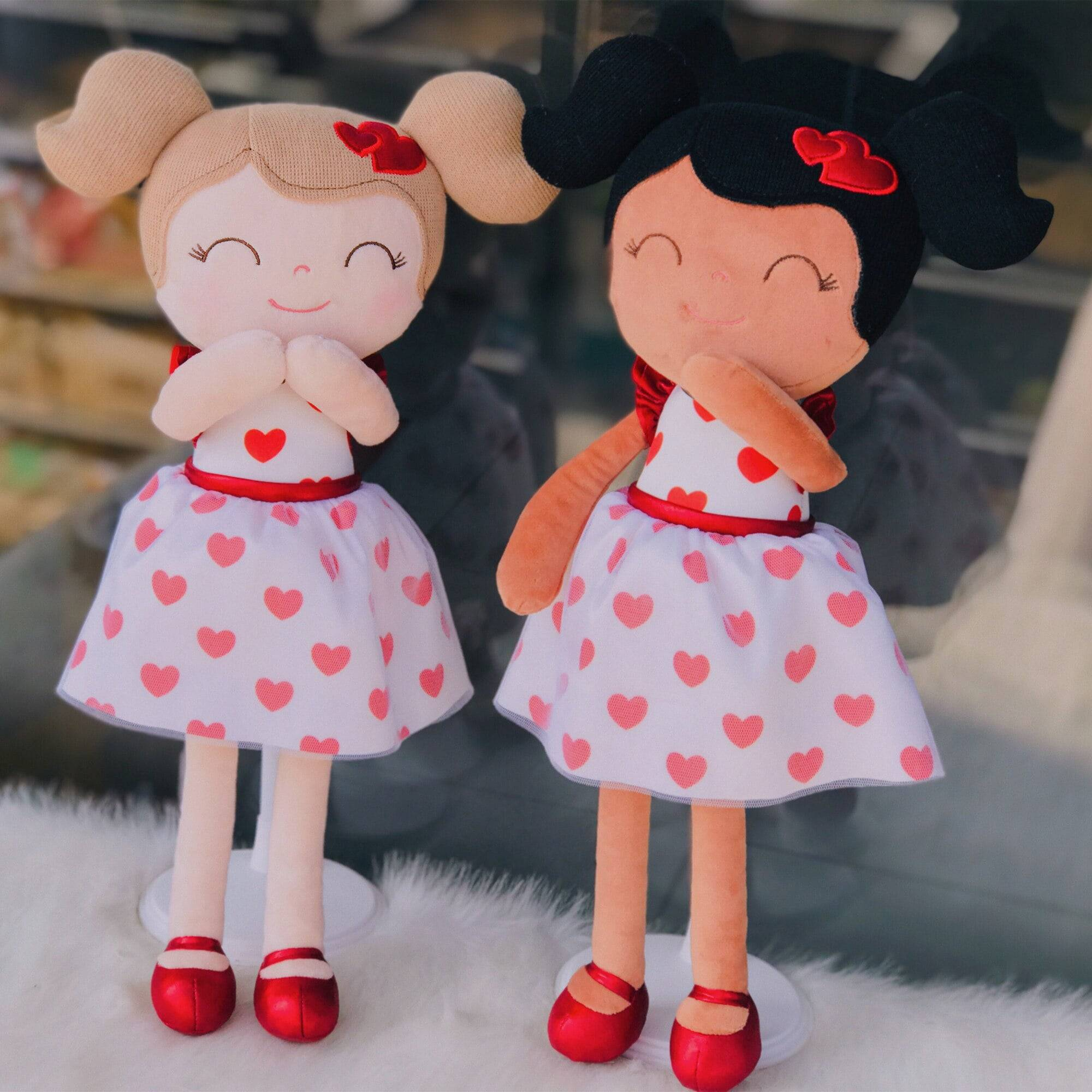 Baby Girl Cloth Dolls Kids Plush Toys Sweet Love Gifts